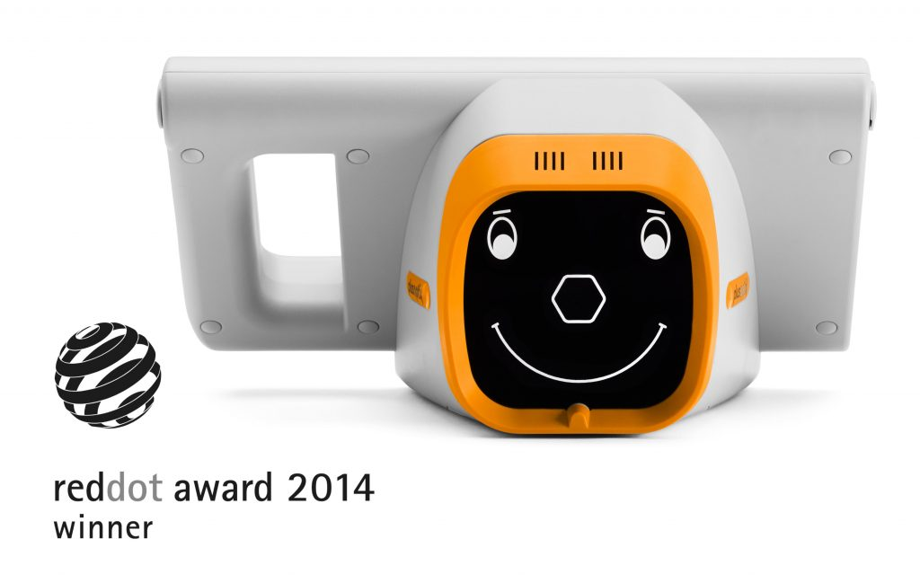 Plusoptix Vision Screeners are awarded for their child-friendly and ergonomic product design